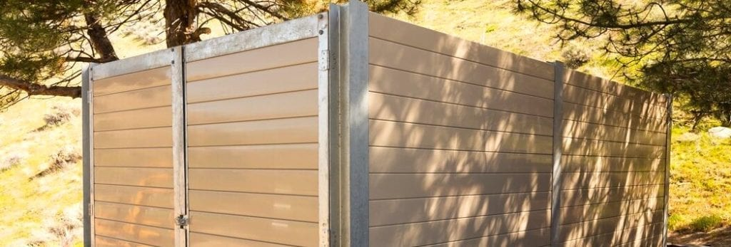 generator enclosures, sound wall, sound barrier