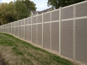AIL-Sound-Walls-in-residential-development-sound-barrier-application
